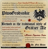 Professor Fritz Briem Grodziskie beer