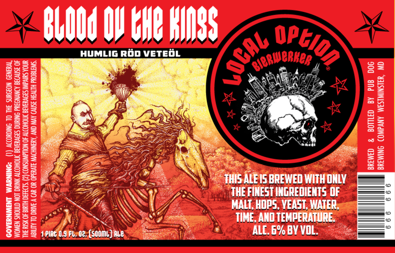 Local Option Blood ov the Kings Beer