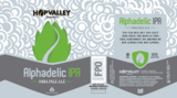 Hop Valley Alphadelic IPA beer