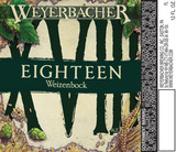 Weyerbacher 18 Weizenbock beer