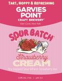 Garvies Point Sour Batch Strawberry Cream beer