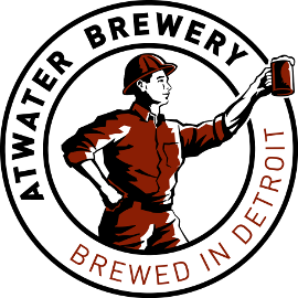 Atwater Hop-A-Peel beer Label Full Size