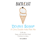 Back East Double Scoop beer