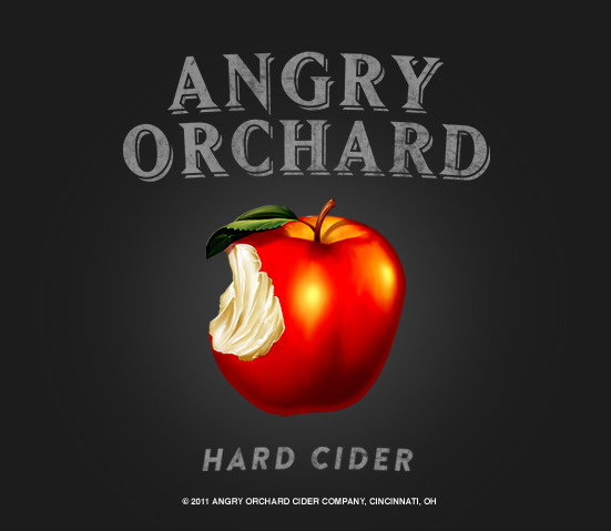 Angry Orchard Hard Cider beer Label Full Size