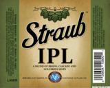 Straub IPL beer