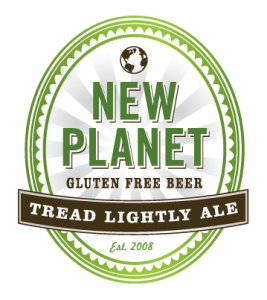 New Planet Tread Lightly Ale beer Label Full Size