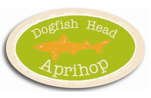Dogfish Head Aprihop beer Label Full Size