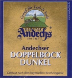 Andechser Doppelbock Dunkel Beer