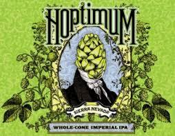 Sierra Nevada Hoptimum Imperial IPA beer Label Full Size