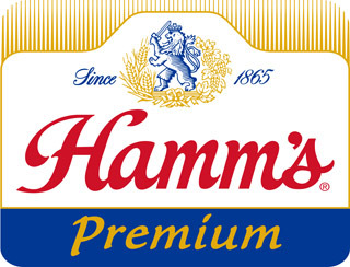 Hamm's Premium Lager beer Label Full Size