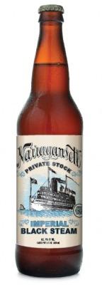 Narragansett Imperial Black Steam beer Label Full Size