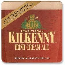 Guinness Kilkenny Irish Cream Ale beer Label Full Size