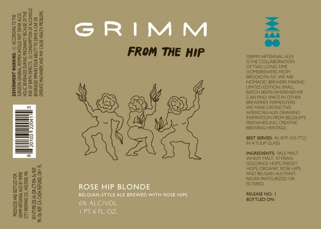 Grimm Ales From The Hip Beer