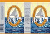 Grey Sail Hazy Day Belgian Wit beer