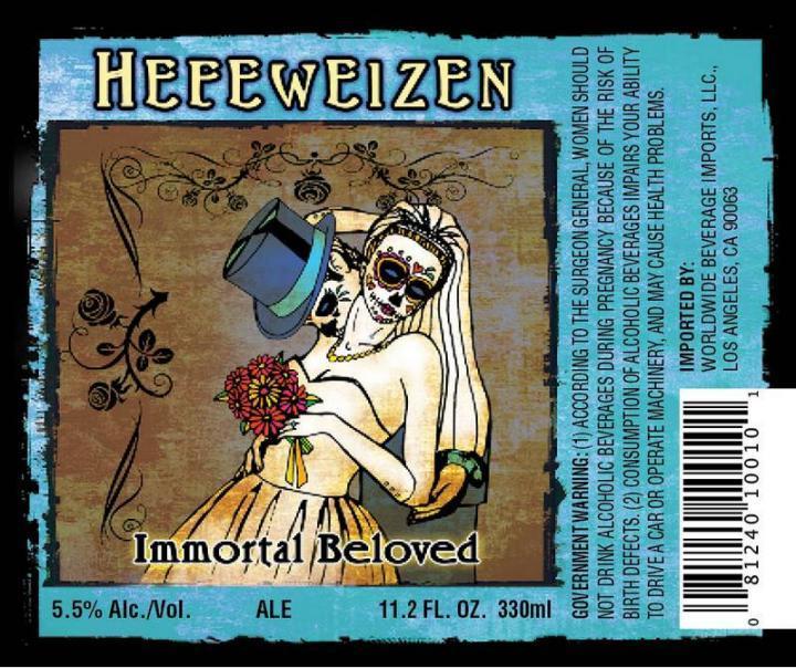 Cerveza De Los Muertos Hefeweizen Beer