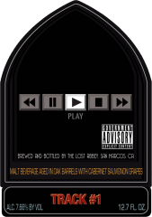 Port Track #1: Runnin' With The Devil beer Label Full Size