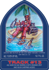 Port Track #13: Message In A Bottle beer Label Full Size