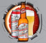 Schell Shocked Grapefruit Radler Beer