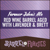 Confluence Farmer John's Multi Grain Ale- Red Wine BA W/ Lavender & Brett beer
