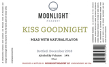Moonlight Kiss Goodbye beer