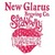 Mini new glarus strawberry rhubarb