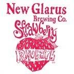 New Glarus Strawberry Rhubarb beer