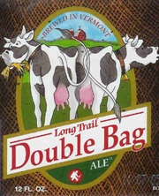 Long Trail Double Bag Ale beer Label Full Size