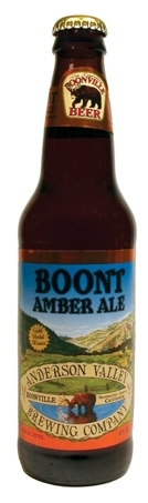 Anderson Valley Boont Amber Ale beer Label Full Size