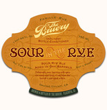 Bruery Sour In The Rye with Peaches beer