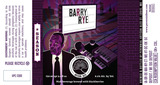 Perennial Barry Rye beer