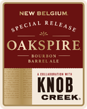 New Belgium Oakspire Aged In Knob Creek Bourbon Barrel Ale beer