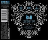 Stone R&R Coconut IPA beer