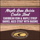 Maple Rum Raisin Stout beer