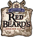 Latitude 42 Red Beard Ale beer Label Full Size