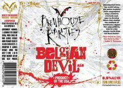 Flying Dog Belgian Devil beer Label Full Size