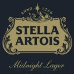 Stella Artois Midnight Lager beer