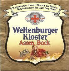Weltenburger Kloster Asam Bock beer Label Full Size