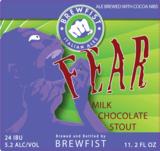 Brewfist Fear beer