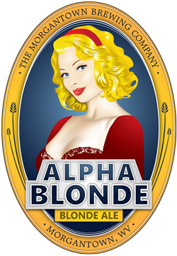 Morgantown Alpha Blonde Ale Beer