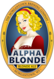 Morgantown Alpha Blonde Ale Beer