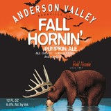 Anderson Valley Fall Hornin' Beer