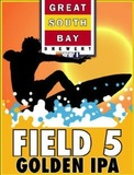 Great South Bay Field 5 Golden IPA Beer