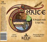 Relic Thrice Beer