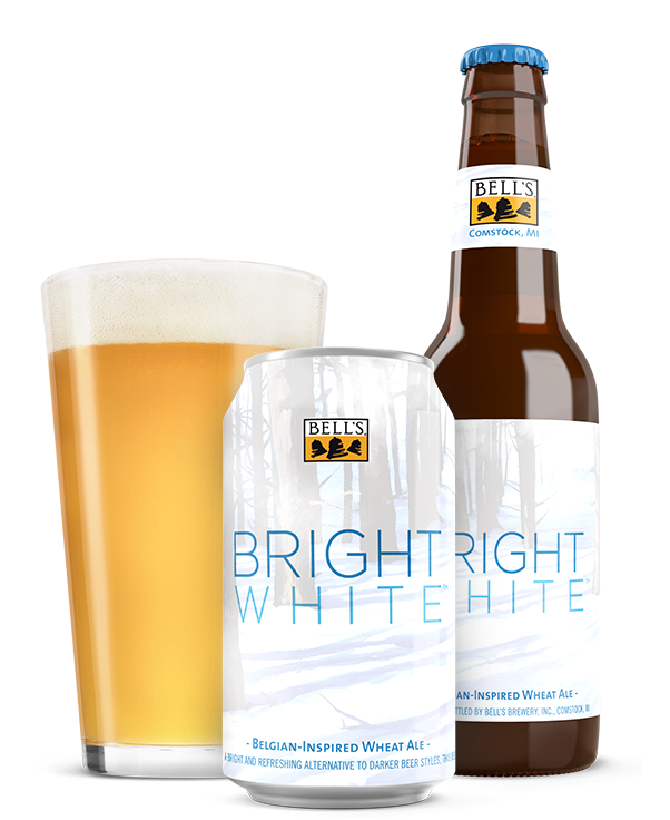 Bells Bright White Ale beer Label Full Size