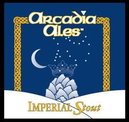 Arcadia Imperial Stout beer Label Full Size