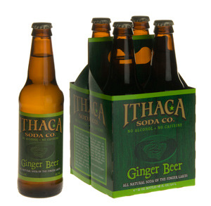 Ithaca Ginger Beer beer Label Full Size