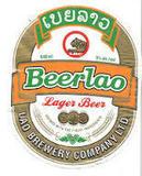 Beerlao Lager beer