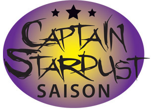 Yellow Springs Captain Stardust beer Label Full Size