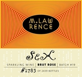 M. Lawrence Sex Brut Rose Beer