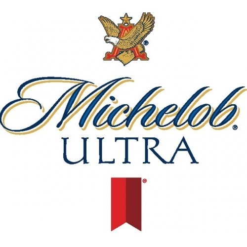 Michelob Ultra Aluminum beer Label Full Size